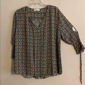 New Boho paisley top